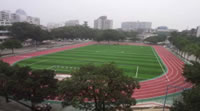 Rubber Granules Application, Sport Fields Construction Project, Stadium Playground Football Field