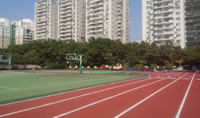 Rubber Granules Application, Sport Fields Construction Project, Stadium Playground