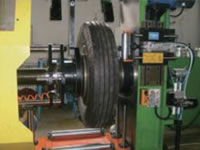 20 Truck and Bus TB Tire Radial and Lateral Run Out Test Machine ROM200 23