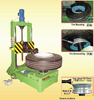 Others 01, Tubeless TB Tire Changer LZC2