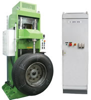 Tire Testing Machine 17, TB Tire Plunger, Tire Static Load Test Machine, TBST1
