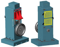 Tire Testing Machine 18, MC Tire Plunger Test Machine, LQD2