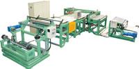 02 Short Fiber Rubber Sheet 90 Degrees Cross Cutting Splicing Machinery