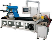 08 Agricultural Belts Cord Winding Cutting Machine Including Cord Winding Rubber Sheet Laminating Base Rubber Laminating Single Belt Cutting