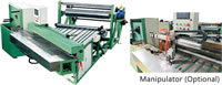 10 Fabric Cutter for Cutting Fabric Rubber Sheet Cloth Sheet plus Splicing Function if with Manipulator