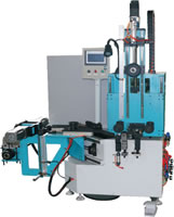 12 Vertical Type Automatic Fabric Wrapping Machine for the Wrapped V-Belts and the Banded V-Belts