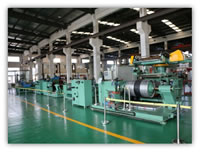 02 Company Intro<BR>V-Belts Machines Running and Testing Workshop with Steam Compressed Air Vacuum