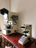 22 Company Intro<BR>V-Belts Equipments QPQ Thickness Inspection of Nitride Layer in Microscope 23
