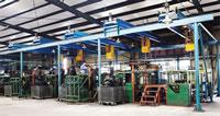 09 V-Belts Productive Equipment in Lab of V-Belts Manufacturer