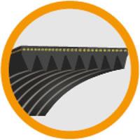 13 Poly Ribs V-Belts PH PJ PK PL PM