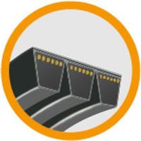 14 Banded Classical V-Belts HA HB HC HD AJ BJ CJ DJ, Banded Narrow Wedge V-Belts 3V9J 5V15J 8V25J