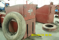 Waste Tires Recycle Line, Tyres Bead Extractor