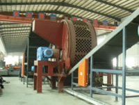 Waste Tires Recycle Line, Tire Crusher