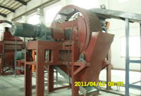 Waste Tires Recycle Line, Secondary Shredder XJZ Series