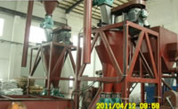 Waste Tires Recycle Line, Airflow Classifier