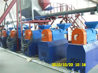 Waste Tires Recycle Line, Rubber Grinder