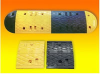 Rubber Powders Derived From Waste Tyres, Application, Deceleration Strip, Speed Bump