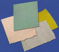 75 PVC Bead Points Dotting Rubberizing, Embossing Machinery DZ Finished PVC Fabrics