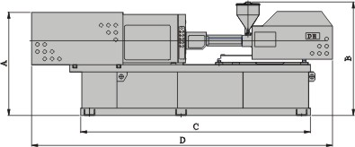 Profile Sizes of Full Electric Motor Plastic Injection Molding Machine Zeus