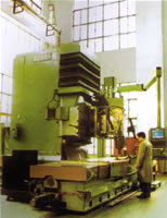 Italy Giant Numerical Control NC Profiling Milling Machine