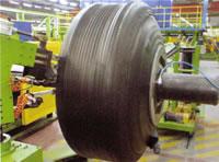 Radial OTR Tyre Tread Winding Equipment