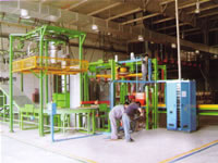 Green Tyres Internal External Surfaces Lubricant Isolating Agent Spray Painting Machine Series
