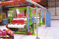 Tyre Cord Fabric Vertical Cutting Production Line, Tire Textile Ply Slitting Production Line