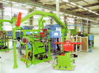 Tyre Apex Strip Extruding Applying-Up Bead Ring Production Line