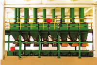 Automatic Weighting Proportioning Distributor For Large Batches Chemical Ingredients, Powders, Granulars