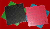 Elastic Rubber Floor Tile & Rubber Abrasive Floor Tile