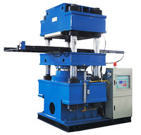 Single Layer Self Pushing Die, Flatplate Vulcanizer, Vulcanizing Curing Press XLBD1000x1200-8000