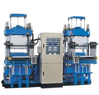 Rubber Vacuum Flatplate Vulcanizer, Vulcanizing Curing Press Set XLBDZ450x450-1000