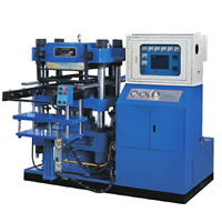 Rubber Vulcanization Curing Press Molding Machine, Special For Tire Valve Rubber Modeling Parts, QMX-D550x650-2000