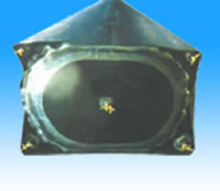 Air Bag Inner Mold For Concrete Hollow Part of Bridge Culvert Buildings
