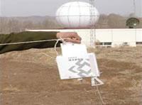 Meteorological Radiosonde WRS80-I Releasing