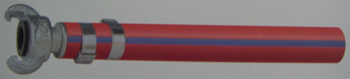 Braided spiraled hose