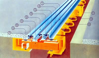 Structure Of GQF MZL II Bridge Expansion Joint With Cellular Joists