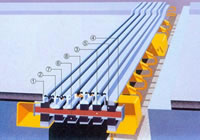 Structure Of GQF MZL II Bridge Expansion Joint With Straight Joist