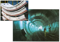 Water Expansion Rubber Segmental Tunnelling SPJ Metro Project